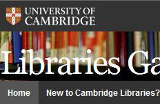 University of Cambridge Libraries Gateway