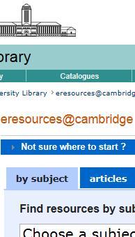 eresources@cambridge
