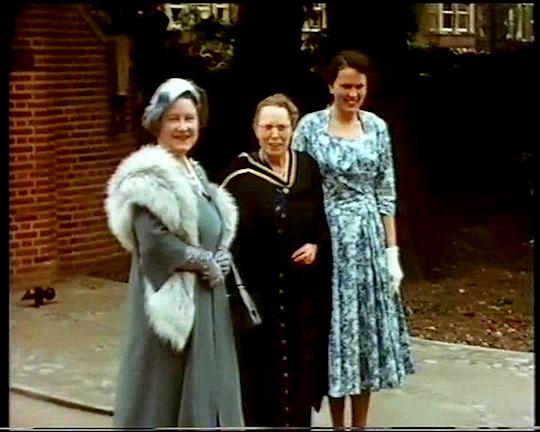 Queens Wing Opening 1957