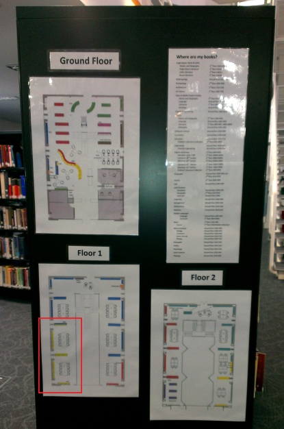 Library floorplans