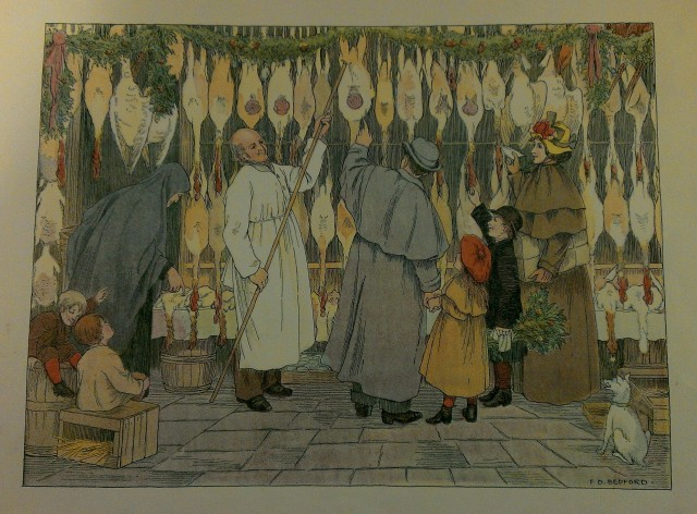'Poulterer' from The Book of Shops, by Edward Verall Lucas [no date]