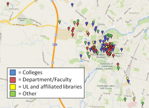 There are over 100 libraries in Cambridge