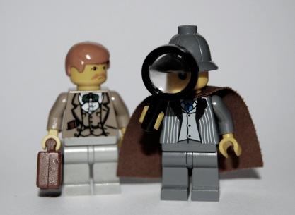 lego sherlock and watson
